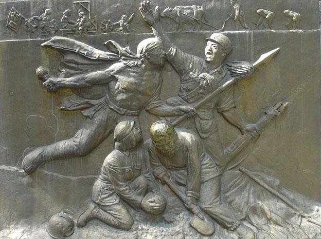 军史馆浮雕 2