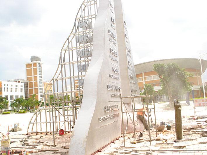 校园不锈钢雷竞技2009年