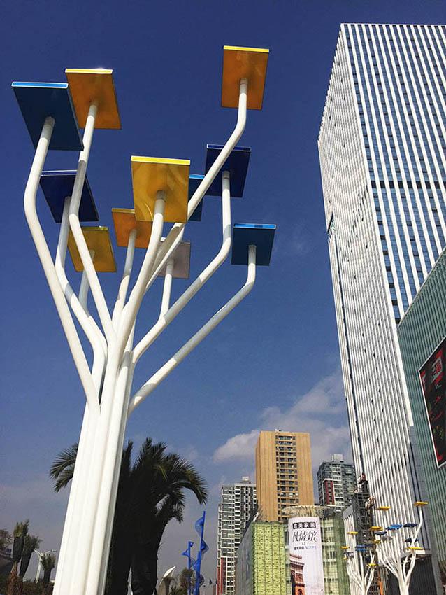 红星国际广场树灯